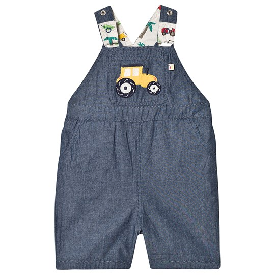 Frugi Rory Reversible Overalls Tropical Tresco