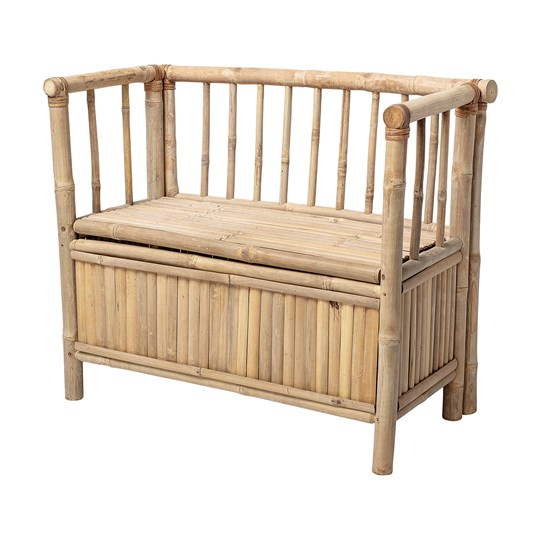 Bloomingville Bamboo Bench Natural Nature Bamboo