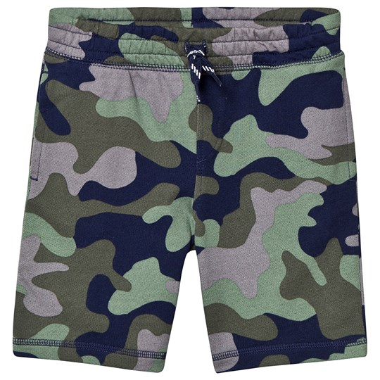 Lands' End Terry Shorts Green Camo H2S