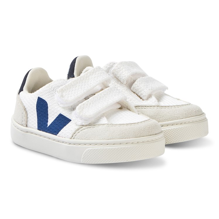 Veja V 12 B Mesh Sneakers WhiteGrey Babyshop.no