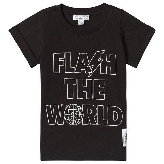 Civiliants T-shirt Falsh The World Sort Black