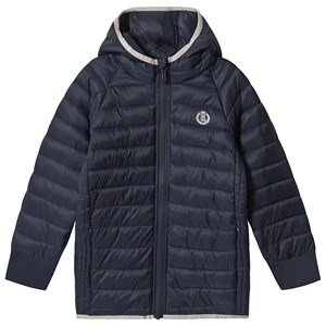 Henri Lloyd Marineblå Padded Hodded Jakke 8-9 years