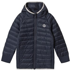Henri Lloyd Marineblå Padded Hodded Jakke 7-8 years