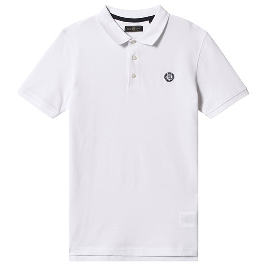 Henri Lloyd Small Badge Logo Polo White 002