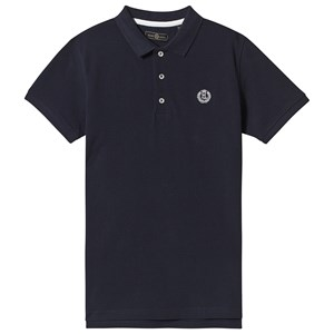 Henri Lloyd Marineblå Small Badge Logo Polo 7-8 years