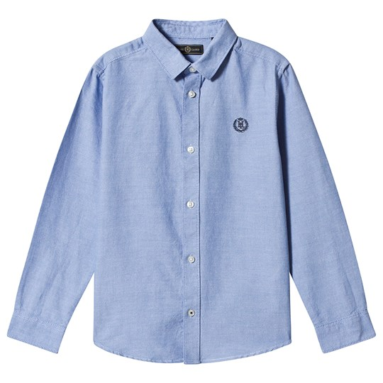 Henri Lloyd Blue Small Badge Logo Shirt 015