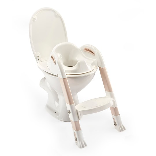 Thermobaby Kiddyloo® Toilet Trainer White/Pink Marron Glace