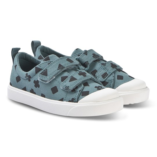Clarks City Flare Sneakers Teal Teal Combi