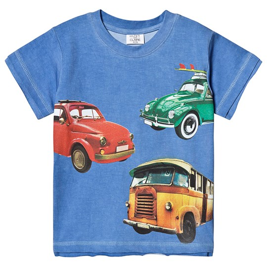 Hust&Claire Ask T-Shirt Blue Riviera