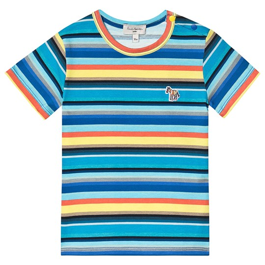Paul Smith Junior Stripe T-shirt Multi 920