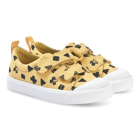 Clarks City Flare Sneakers Gul Yellow Combi