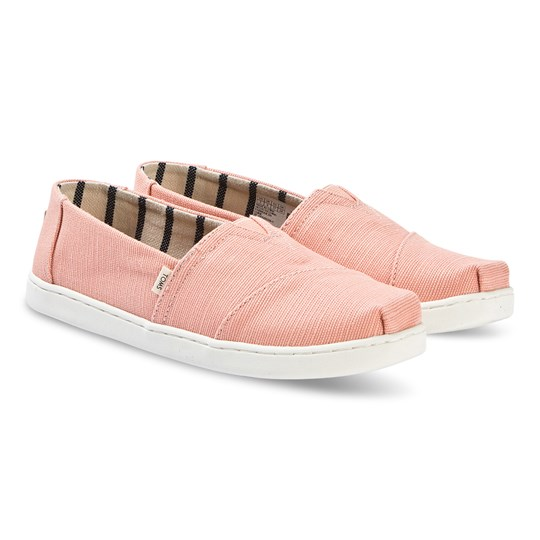 Toms Youth Classics Pink Shimmer Pink