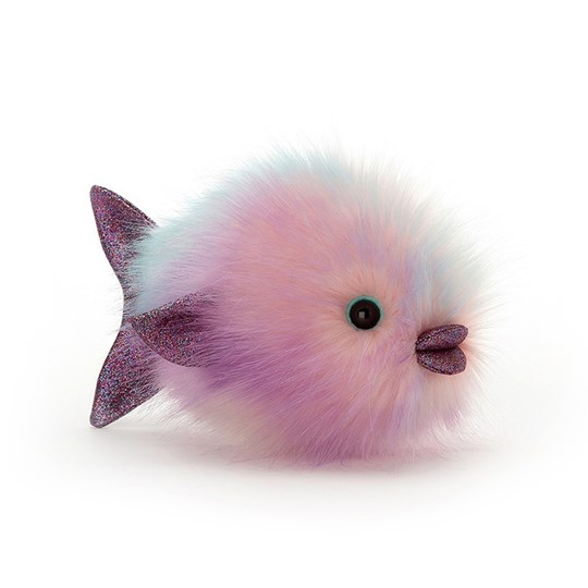 Jellycat Disco Fisk Pastell 21 cm Pink