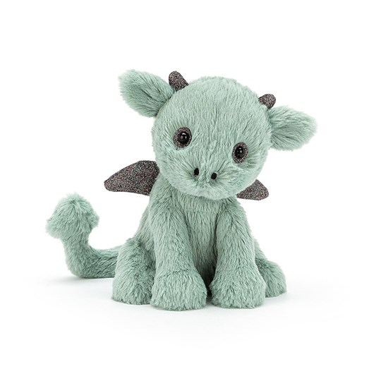 Jellycat Starry-Eyed Drake 30 cm Green