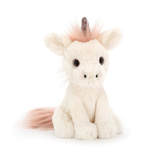 Jellycat Starry-Eyed Unicorn 18cm Cream