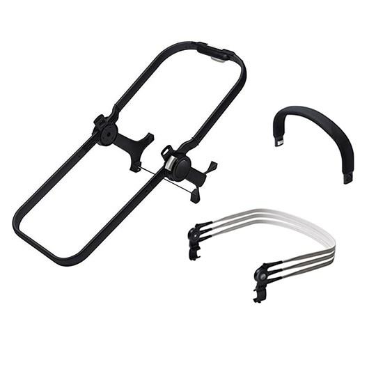 Bugaboo Donkey2 Duo Extension Set for Base+ Black Black