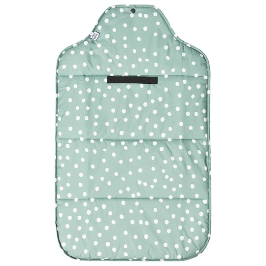 Buddy & Hope Foldable Changing Mat Green with Dots