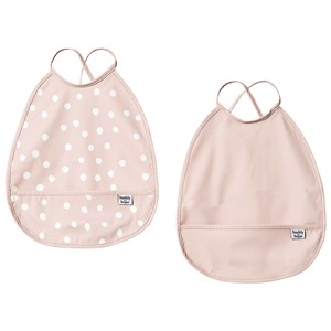 Image of Buddy & Hope Bib with Arms 2-Pack i Grå One Size (1304796)