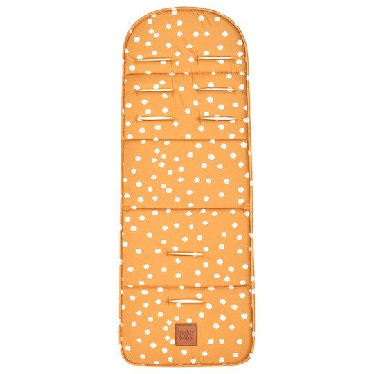 Buddy & Hope Seat Pad Yellow with Dots