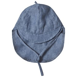 Huttelihut Baby Sun Hat Denim Blue