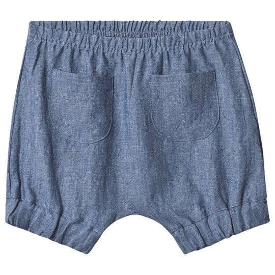 Huttelihut Shorts Denim Blue Denim Blue
