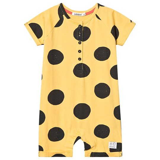 Indikidual Spotted Romper Yellow/Black KANO