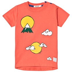 Indikidual Mountain Cloud T-shirt Red