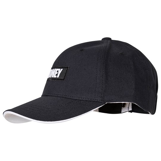 Money Logo Baseball Cap Black 023