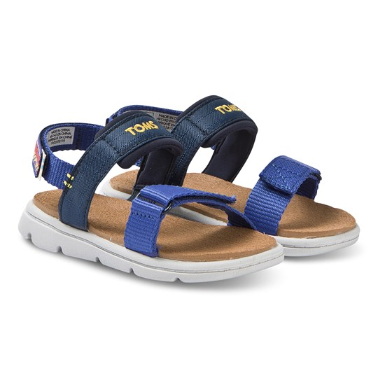 Toms Webbing Tiny TOMS Ray Sandals Navy Navy