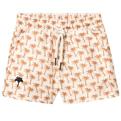 OAS Palm Swim Shorts Beige