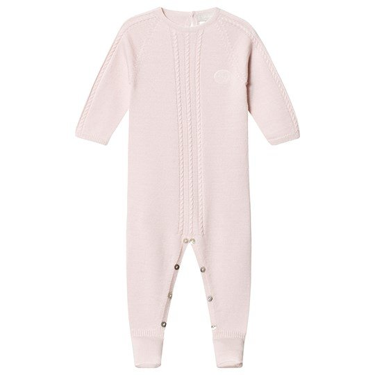 Lillelam Premium Footed Baby Body Baby Pink Pink