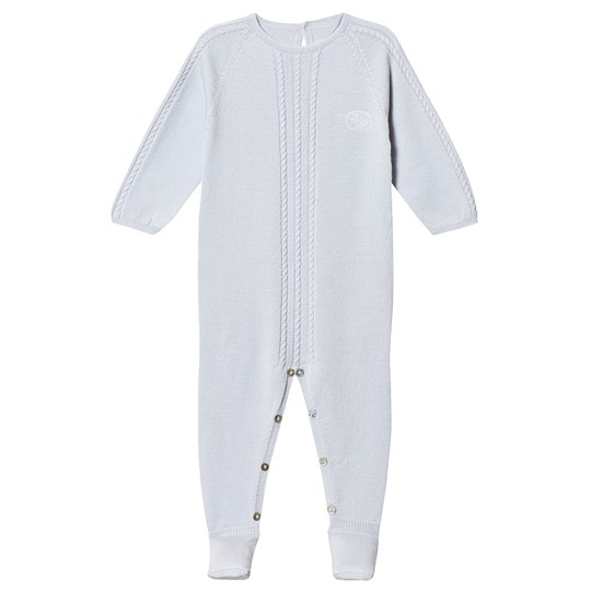 Lillelam Premium Footed Baby Body Baby Blue Blue