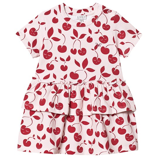 Livly Cherry Savannah Dress Pink pink / red cherry
