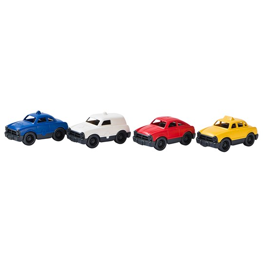 Green Toys Mini Vehicle Set Red