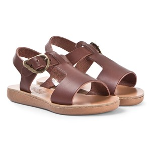 Image of Ancient Greek Sandals Little Adonis Sandals Chestnut 27 (UK 9) (1330878)