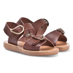 Image of Ancient Greek Sandals Little Irini Sandals Chestnut 25 (UK 7.5) (1330888)