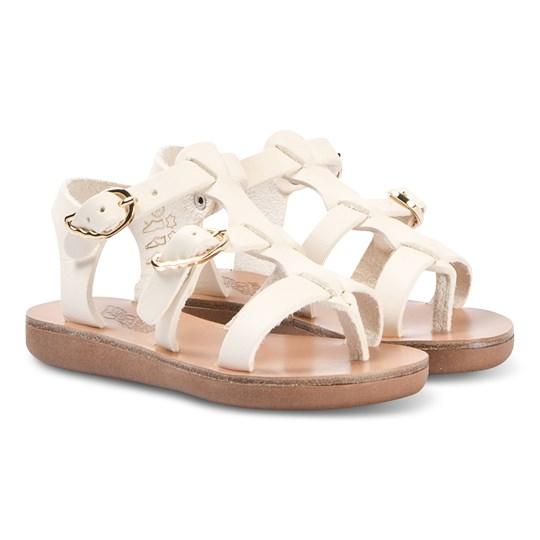 Ancient Greek Sandals Little Grace Sandals Off White off-white