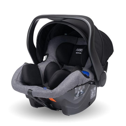 Axkid Modukid Infant Carrier Grey Musta