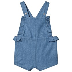 Cyrillus Chambray Romper Blue