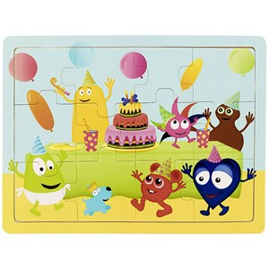 Image of Babblarna Babblarna on a Party 12 Pieces 3+ years (1375883)