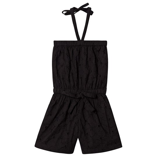 How To Kiss A Frog Jennie Blonde Romper Sort Black