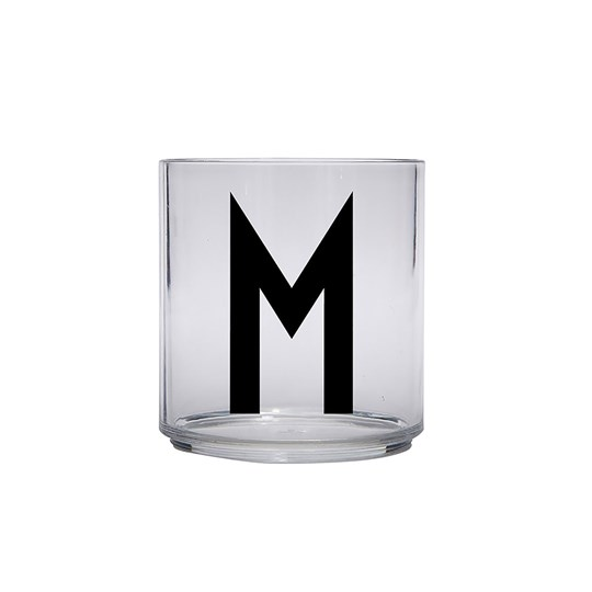 Design Letters Personal Drinking Glass - M Black