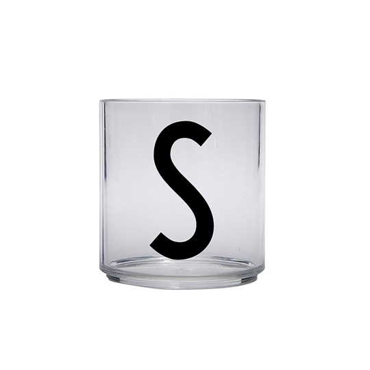Design Letters Personal Drinking Glass - S Black