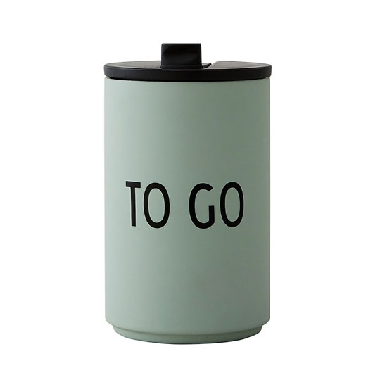 Design Letters To Go Thermo Cup Green Green
