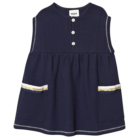 Blune Blondie Dress Marineblå Navy
