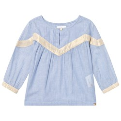 Blune On Tour Blouse Chambray/Gold