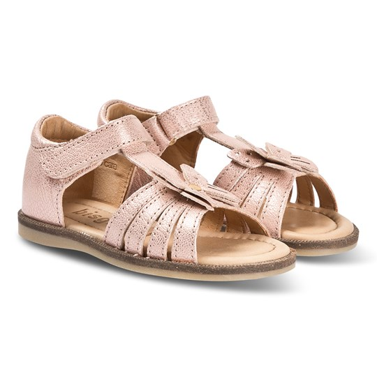 Bisgaard Sandals Rose Gold Rose Gold