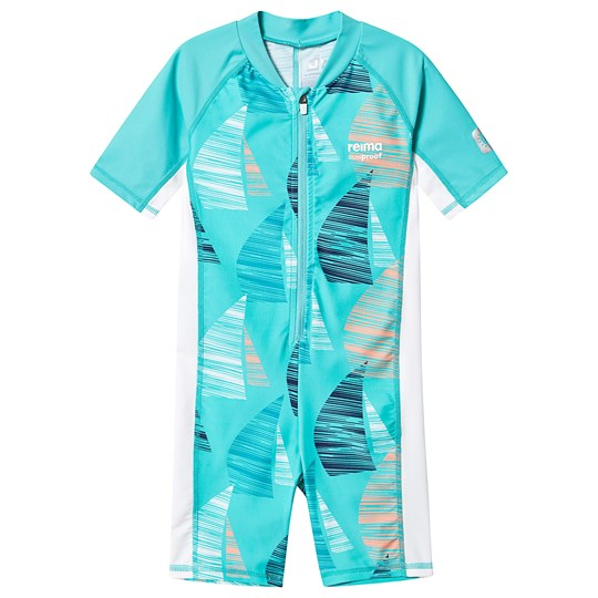 Reima Swim overall, Galapagos Bright turquoise BRIGHT TURQUOISE