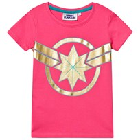 1ac6444b1 Fabric Flavours Captain Marvel T-Shirt Pink Pink