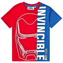 d99224b46 Fabric Flavours Avengers Invincible T-Shirt Red/Blue Red